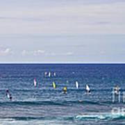 Windsurfing Poster
