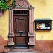 Wine Bar Door Poster