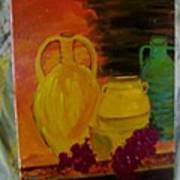 Wine Bottle Assortiment Poster