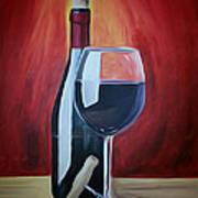 Wine Bottle Poster
