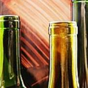 Wine Bottles 2 Poster
