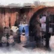 Wine Cellar Photo Art Poster