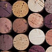 Wine Corks 1 Poster by Jane Rix