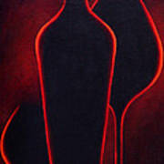 Wine Glow Poster
