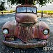 Wine Truck Poster