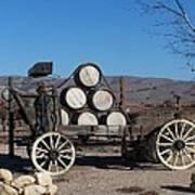 Wine Wagon Poster