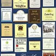 Wines Of The Napa Valley - Series 2 Poster
