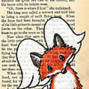Winged Fox Poster