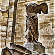 Winged Victory - Louvre Poster
