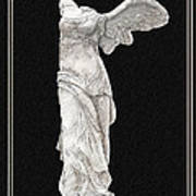 Winged Victory - Nike Of Samothrace Poster by Jerrett Dornbusch