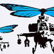 Wingin It - Blue Poster