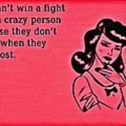 Winning An Argument Poster