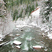 Winter At Mt Hood Poster