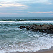 Winter Beach Lavallette New Jersey  Poster