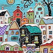 Winter City Poster