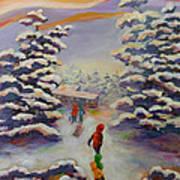 Winter Comfort Poster