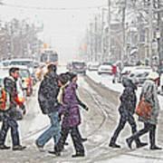 Winter Crossing Poster