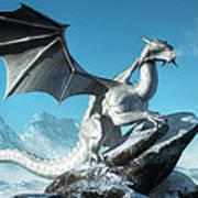 Winter Dragon Poster