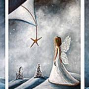 Winter Fairies By Shawna Erback Poster by Shawna Erback