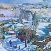 Winter Fun - SOLD Poster