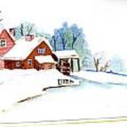 Winter Habitat Poster