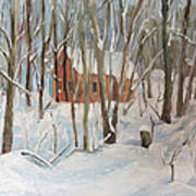 Winter In Campton New Hampshire Poster