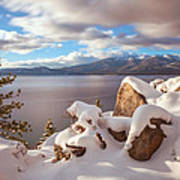 Winter In Tahoe Poster