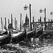 Winter In Venice Poster