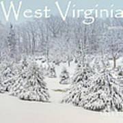Winter In West Virginia Poster