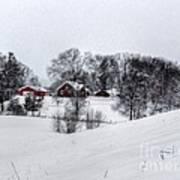 Winter Landscape 5 Poster