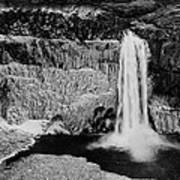 Winter Palouse Falls 3 Poster