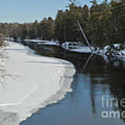 Winter River I Poster