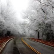 Winter Road Trip Poster