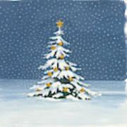 Winter Scene Iv Poster