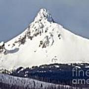 Winter Storm Over Mt. Washington Poster