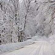 Winter Travel Poster