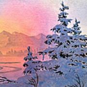 Winter Twilight Poster