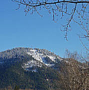 Winter Vista From Grants Pass Poster
