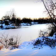 Winter Wonderland  In Maryland Usa Poster