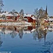 Winterday In Arboga  Poster