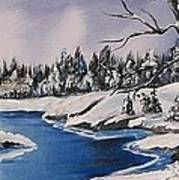 Winter's Blanket Poster