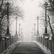 Winters Bridge Poster by Stuart Deacon