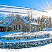 Winters Day Photoart 6 Poster