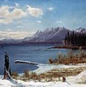 Wintertime Lake Tahoe In Winter The Sierra Nevada California Poster