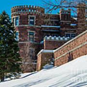 Wintery Lambert Castle Poster