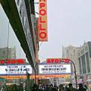 Wintry Day At The Apollo Poster