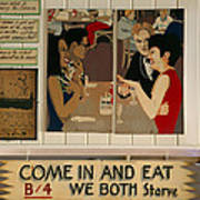 Wintzell's Oyster House Sign - Mobile Alabama Poster