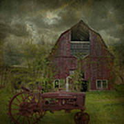 Wisconsin Barn 3 Poster