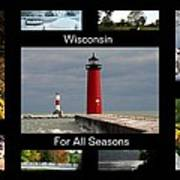 Wisconsin For All Seasons Poster