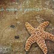 Wish Upon A Starfish Poster